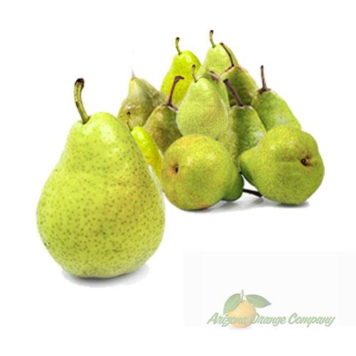 Organic Green D'Anjou Pears - 1 Dozen