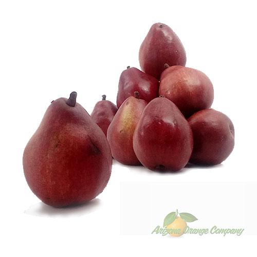 Organic Red D'Anjou Pears - 1 Dozen