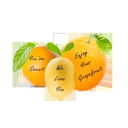 Message Fruit